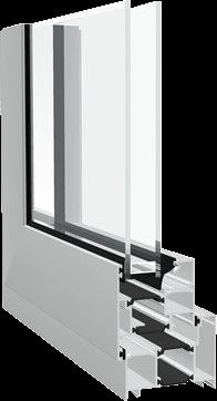 Dualframe Casement Profile