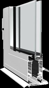 Dualframe Resi Door Profile