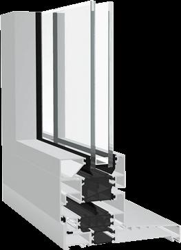 Dualframe Si Tilt and turn profile