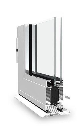 dualframe 75 hp door profile