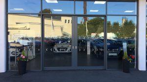 Aluminium heavy duty sliding doors