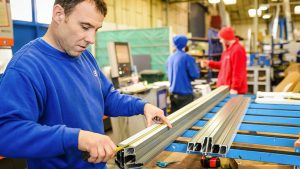 CDW factory frame manufacturing
