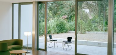Reynears CP130 aluminium sliding patio door